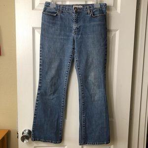 J. crew straight leg vintage denim jeans
